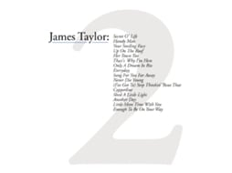 CD James Taylor -Greatest Hits Vol.2 — Portuguesa