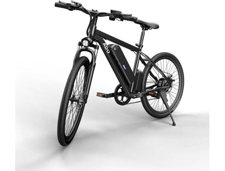 Marca do fabricante - Bicicleta Elétrica ADO (26 - Preto - Autonomia: 60 km  Velocidade Máx: 35 km/h)