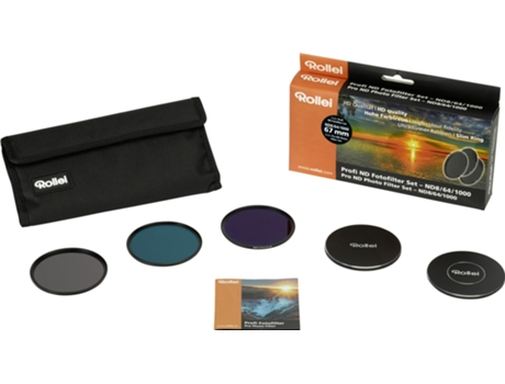Kit Filtros Densidade Neutra ROLLEI PRO ND KIT 67 — 67 mm