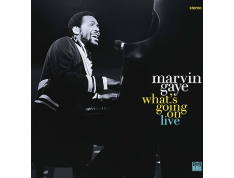 CD Marvin Gaye - What's Going On-Live