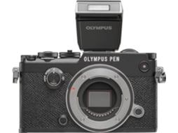 Máquina Fotográfica Mirrorless OLYMPUS PEN-F 14-42 (20 MP - Sensor: Micro 4/3 - ISO: 100 a 25600) — 20 MP | ISO Low 25600