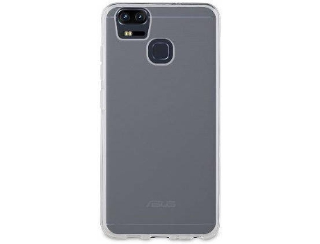 Capa MUVIT Crystal Soft Asus Zenfone Zoom S Transparente — Compatibilidade: Asus Zenfone Zoom S