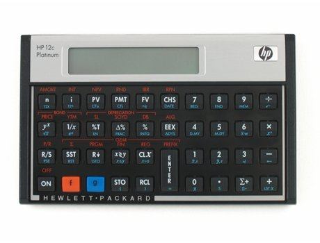 Calculadora Financeira HP-12 Cplatinum — Calculadora / Financeira