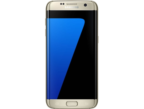 Smartphone SAMSUNG Galaxy S7 Edge 32GB Dourado — Android 6.0 / 5.5'' / 4G / Quad Core 2.3 GHz + Quad Core 1.6 GHz