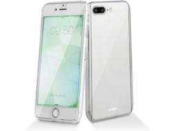Capa e Película SBS Crystal 360º iPhone 7 Plus, 8 Plus Transparente — Compatibilidade: iPhone 7 Plus, 8 Plus