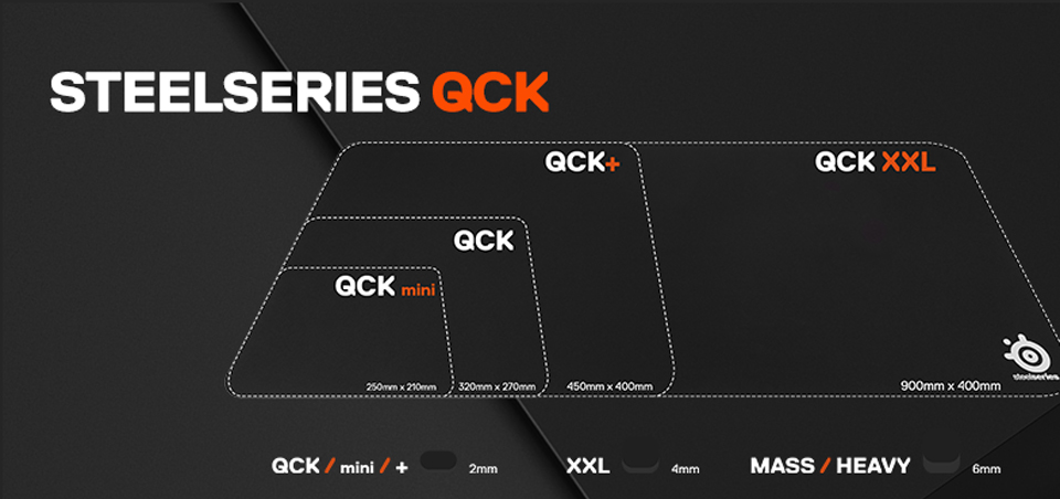 Steel Series QCK