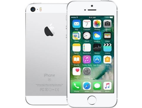 Smartphone APPLE iPhone SE 128GB Prateado — iOS 10 / 4'' / A9