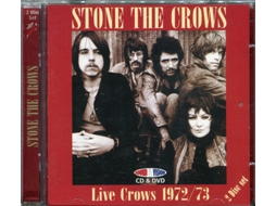 CD Stone The Crows - Live Crows 1972/73