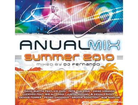 CD Vários-Anual Mix Summer 2010 - Mixed By Dj Fernando — House / Electrónica