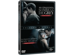 DVD As Cinquenta Sombras De Grey + As Cinquenta Sombras Mais Negras — Do realizador James Foley