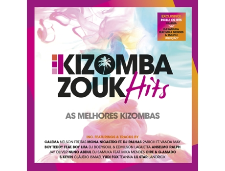 CD Vários - Kizomba Zouk Hits — Pop-Rock