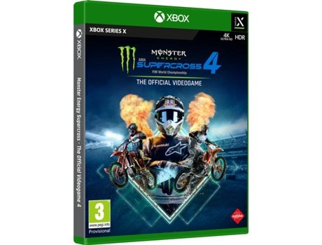 Jogo Xbox Series X Monster Energy Supercross The Official Videogame 4