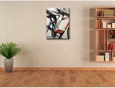 Quadro LEGENDARTE The biker (60x80 cm)