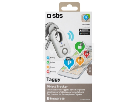 Alarme SBS Single Taggy Branco — Conetividade: Bluetooth