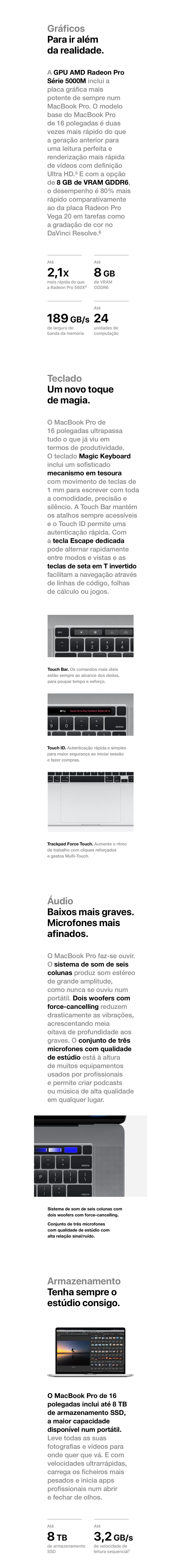 Lançamento Macbook