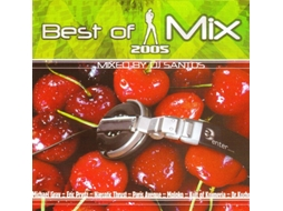 CD Vários - Best Of Mix 2005 - Mixed By Dj Santos — House / Electrónica