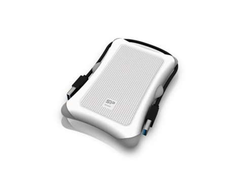 "Disco Externo 2.5"" Silicon Power Armor A30 1TB USB 3.0 Branco"