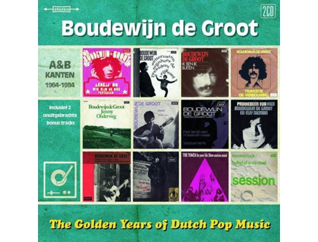 CD Boudewijn De Groot - The Golden Years Of Dutch Pop Music (A&B Kanten 1962-1973) (1CDs)