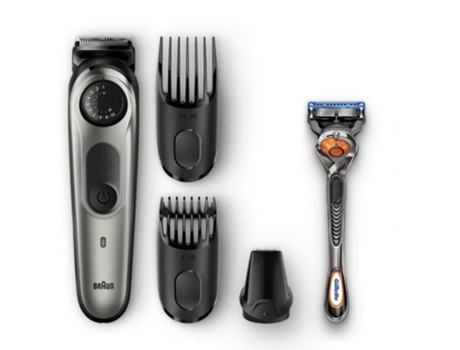 Aparador de Barba BRAUN S5 Bt5060 (Autonomia 100 min - Bateria) — Ultimate precision. 39 length settings. Lifetime sharp blades