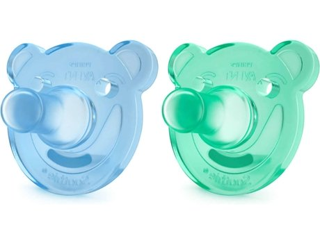 Chuchas PHILIPS AVENT Soothie (menino 0-3 meses - 2 uds)