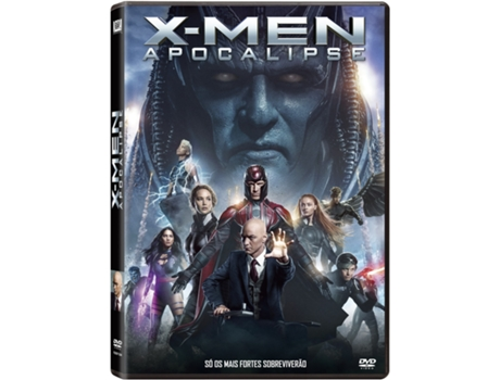 DVD X-Men: Apocalipse — De: Bryan Singer | Com:  James McAvoy, Michael Fassbender, Jennifer Lawrence