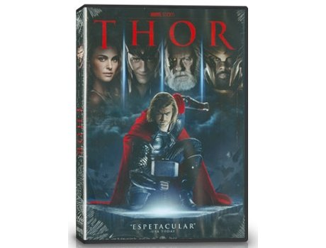 DVD Thor — De: Kenneth Branagh | Com: Anthony Hopkins,Chris Hemsworth,Colm Feore