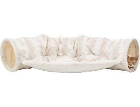 TRIXIE - Túnel para Gatos TRIXIE Nelli Branco