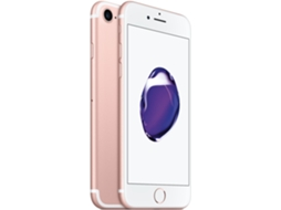 Smartphone APPLE iPhone 7 128GB Rosa Dourado — iOS 10 / 4.5'' / A10 Fusion