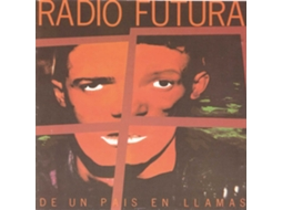 CD Radio Futura De Un Pais En Llamas — Pop-Rock