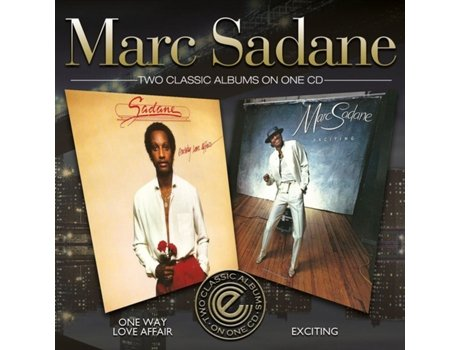 CD Marc Sadane - One-Way Love Affair / Exciting