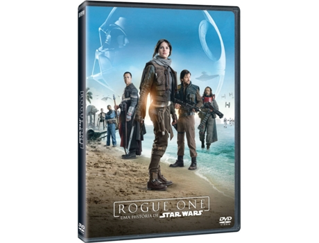 DVD Rogue One: Uma História de Star Wars — De: Gareth Edwards / Com: Felicity Jones,  Diego Luna,  Alan Tudyk