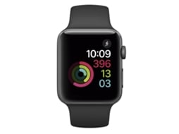 Apple Watch APPLE Series 2 42 mm Cinzento Sideral, Preto — Bluetooth 4.0 e Wi-fi | 273 mAh | iOS