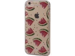 Capa KUNFT Watermelon iPhone 6, 6s, 7, 8 Multicor — Compatibilidade: iPhone 6, 6s, 7, 8