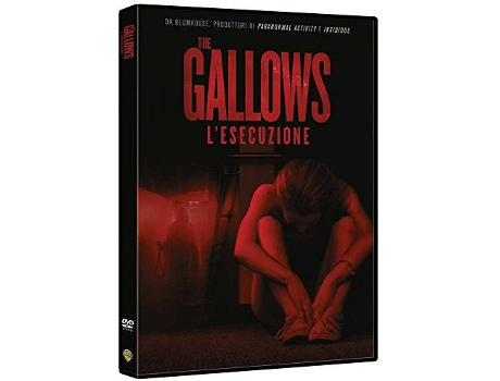 DVD The Gallows Inglês, Italiano