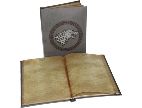 Caderno com Luz GAME OF THRONES Stark — Game of Thrones
