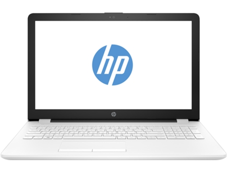 Portátil 15.6'' HP 15-bs092ns Branco — Intel Celeron N3060 | 8 GB | 500 GB HDD | Intel HD Graphics