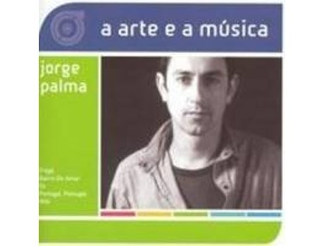CD Jorge Palma - A Arte e A Música — Pop-Rock