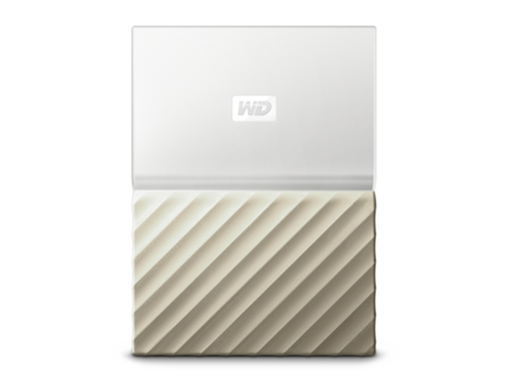 "Disco Externo 2.5"" Western Digital My Passport Ultra 1TB USB 3.0 Dourado e Branco"