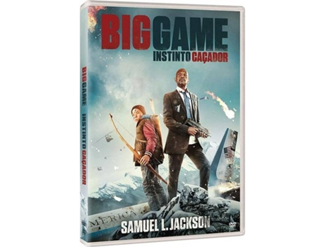DVD Big Game - Instinto Caçador — Do realizador Jalmari Helander