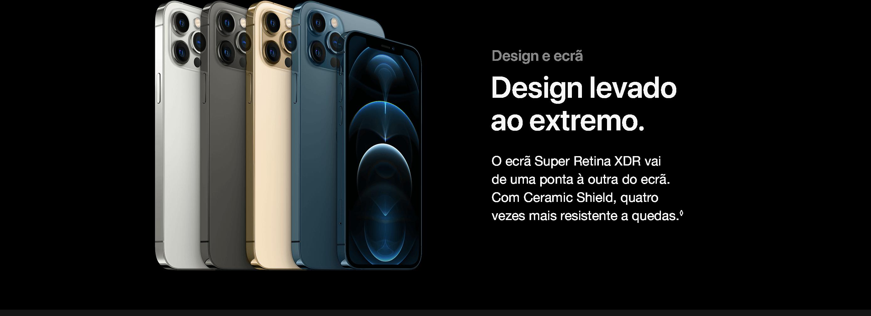 iPhone 12 Pro e iPhone 12 Pro Max Design e Ecrã