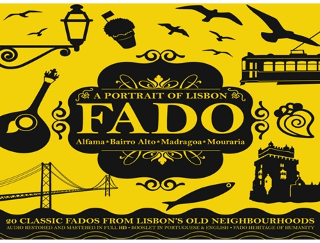 CD Fado - A Portrait Of Lisbon — Fado