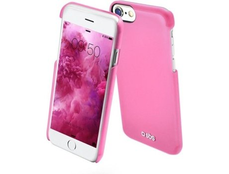 Capa SBS Color Feel iPhone 5, 5s, SE Rosa — Compatibilidade: Apple iPhone 5, 5s, SE