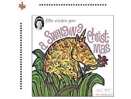CD Ella Fitzgerald - Ella Wishes You a Swinging Christmas — Jazz