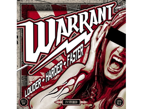 Vinil Warrant - Louder ◊ Harder ◊ Faster