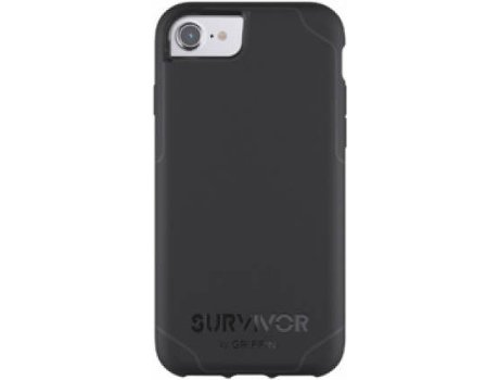 Capa GRIFFIN Strong iPhone 6, 6s, 7, 8 Preto — Compatibilidade: iPhone 6, 6s, 7, 8