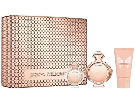 Coffret Paco Rabanne Olympéa Woman EDP (50ml + 100ml + 6ml)