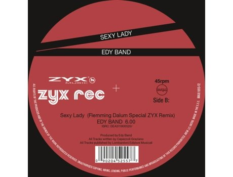 Vinil Edy Band - Sexy Enough (1CDs)