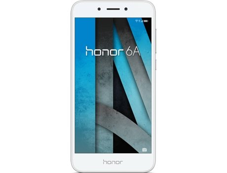Smartphone HONOR 6A 16 GB Prateado — Android 7.0 / 4G / Qualcomm MSM8937 1.2GHz