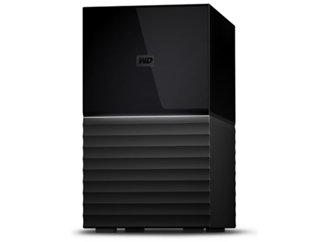 "Disco Externo 3.5"" Western Digital My Book Duo 6TB USB 3.1 Preto"