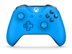 Comando Wireless Xbox One Azul — Compatibilidade: Xbox One e Windows